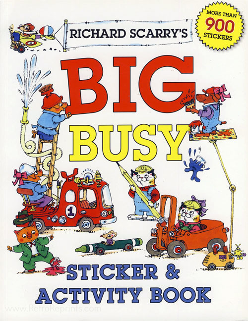 Busy World of Richard Scarry, The Big Busy Book