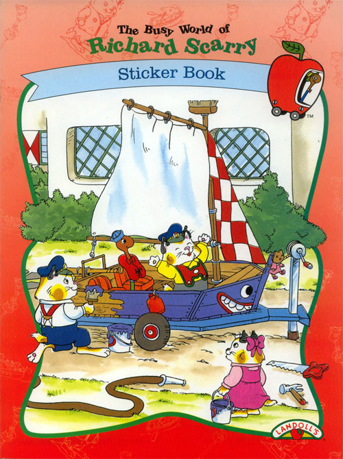 Busy World of Richard Scarry, The Sticker Fun