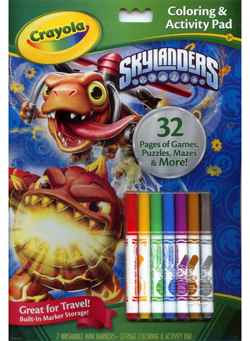 Skylanders Coloring and Activity Book