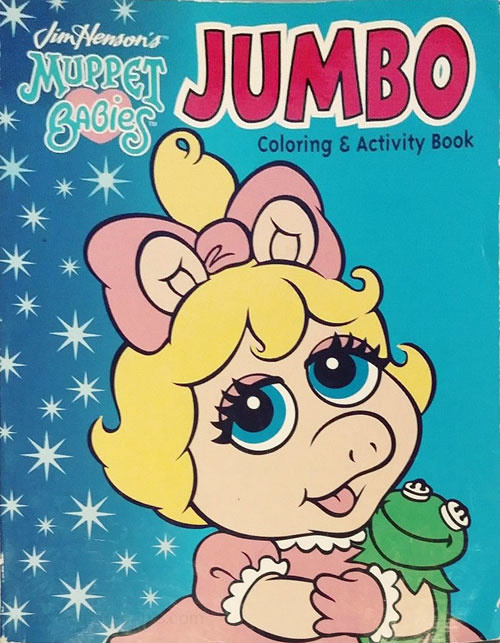 Muppet Babies, Jim Henson's Coloring and Activity Book