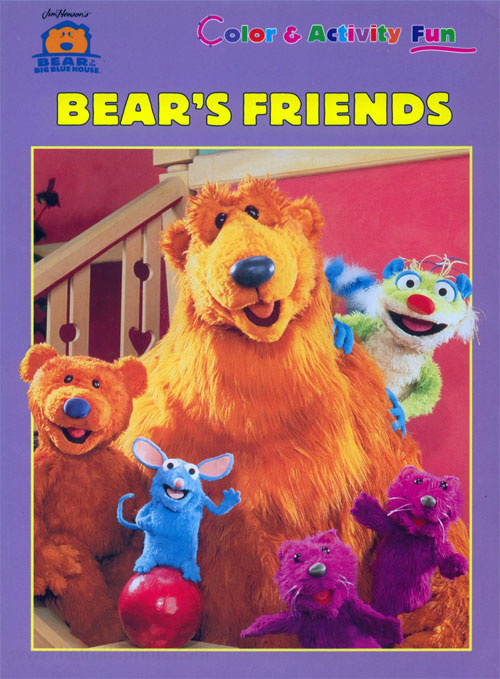 Bear in the Big Blue House Bear's Friends