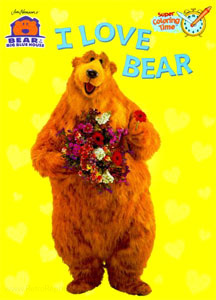Bear in the Big Blue House I Love Bear