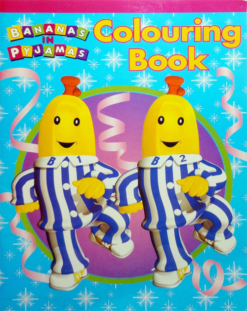 Bananas in Pajamas Coloring Book