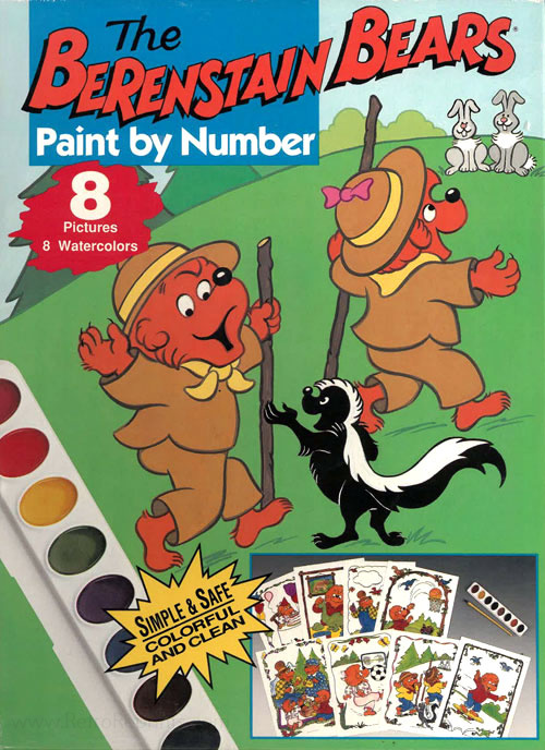 Berenstain Bears, The Paint by Number Set