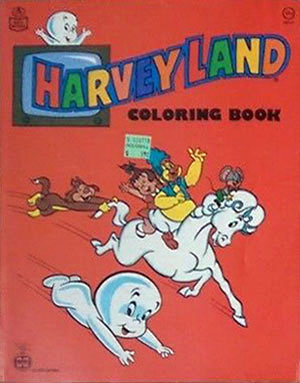 Harveytoons Coloring Book