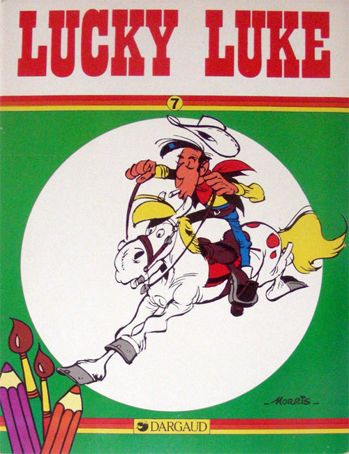 Lucky Luke Coloring Book