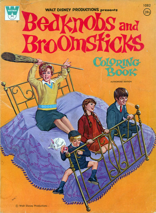 Bedknobs & Broomsticks Coloring Book
