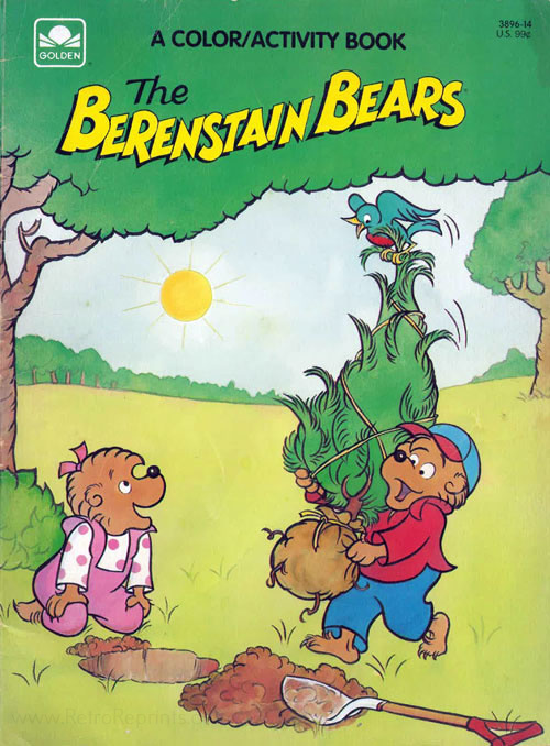 Berenstain Bears, The Coloring and Activity Book