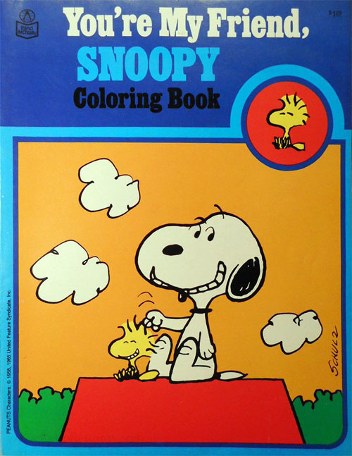 Peanuts You're My Friend, Snoopy