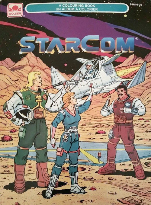 Starcom: The U.S. Space Force Coloring Book