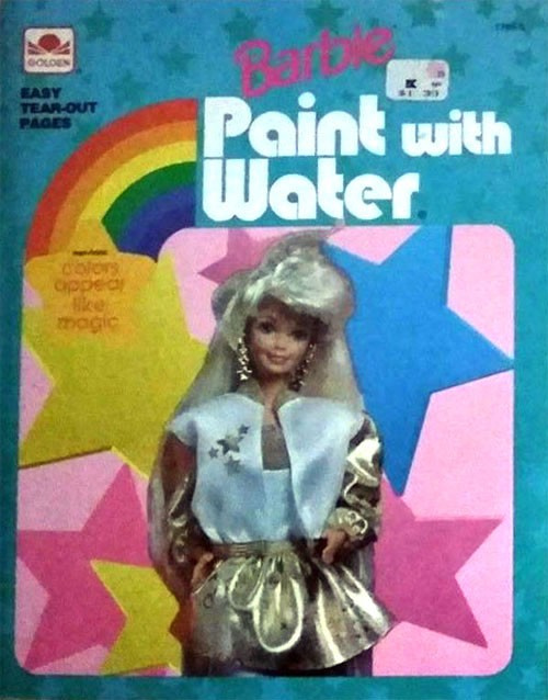 Barbie Paint with Water