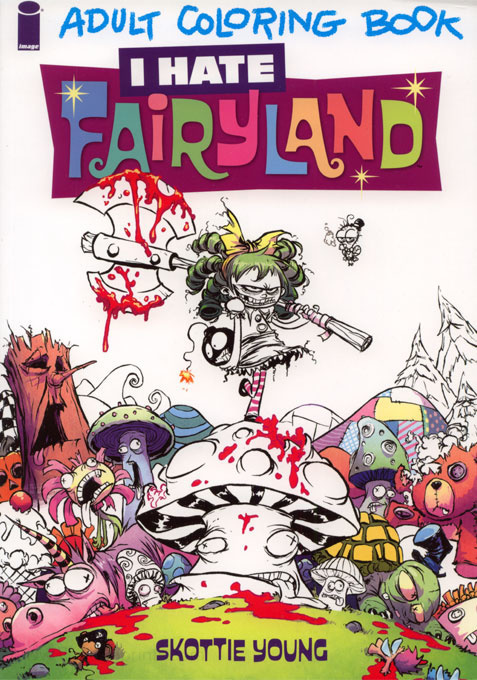 Comic Strips I Hate Fairyland Coloring Book