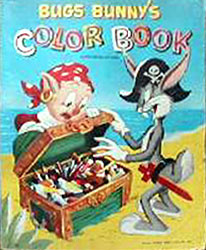 Bugs Bunny Color Book