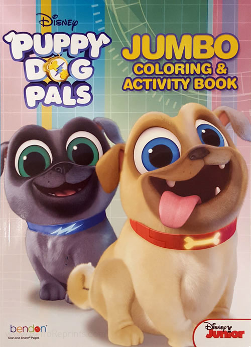 Puppy Dog Pals, Disney's Coloring and Activity Book