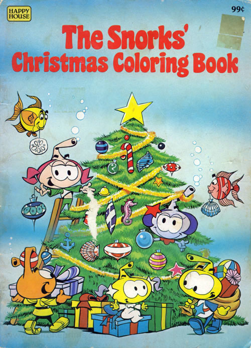 Snorks, The Christmas Coloring Book