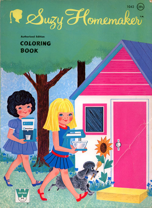 Suzy Homemaker Coloring Book
