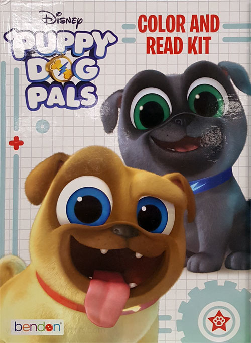 Puppy Dog Pals, Disney's Read and Color Kit