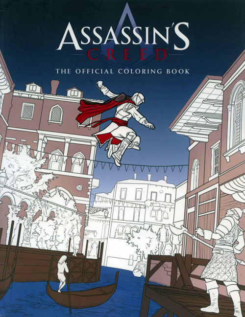 Assassin's Creed Coloring Book