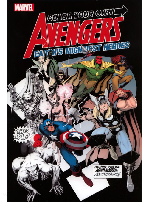 Avengers Color Your Own Avengers 2