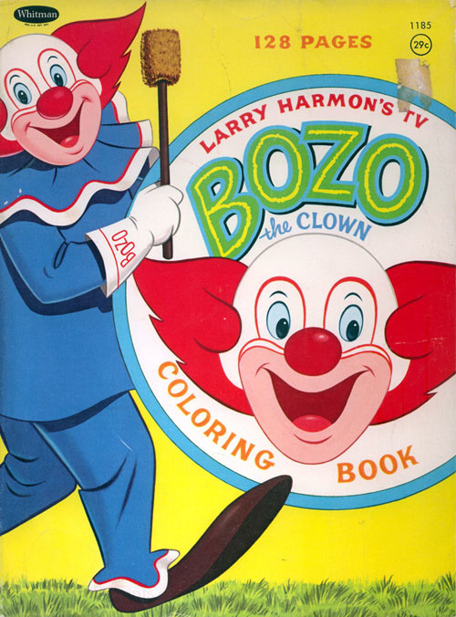 Bozo the Clown Coloring Book