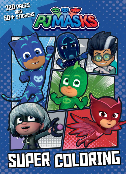 PJ Masks Coloring Book