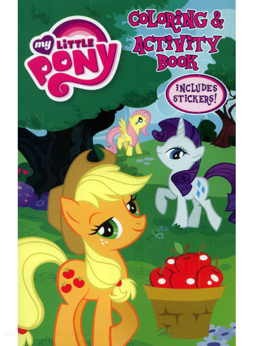 My Little Pony: Friendship Is Magic Coloring & Activity Book