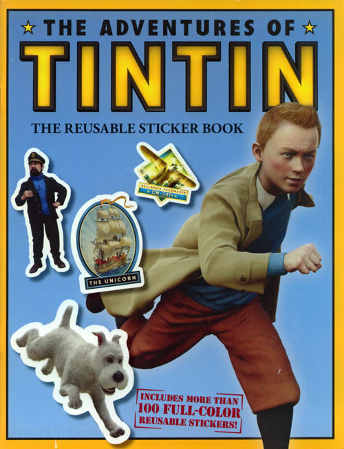 Adventures of Tintin, The Sticker Activity Book