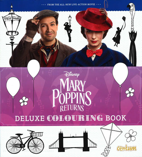 Mary Poppins Returns Coloring Book