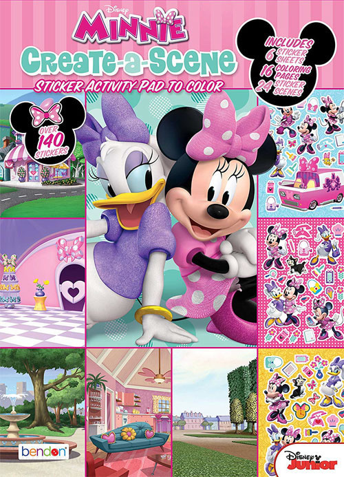 Minnie Mouse Create-A-Scene