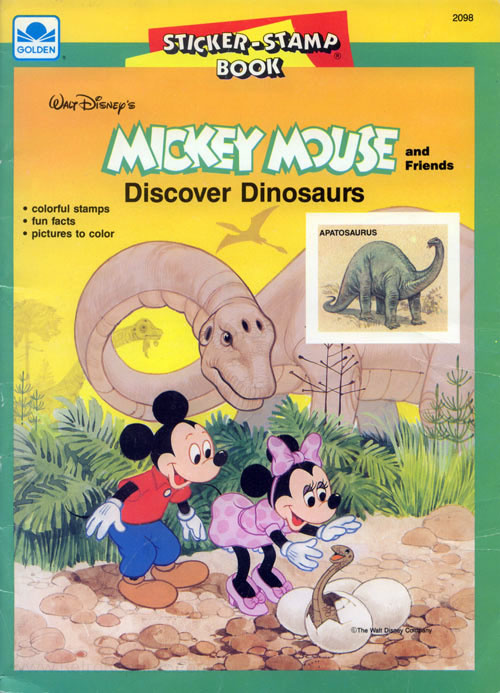 Mickey Mouse and Friends Discover Dinosaurs