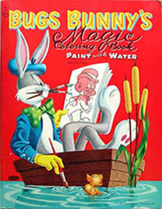 Bugs Bunny Magic Coloring Book