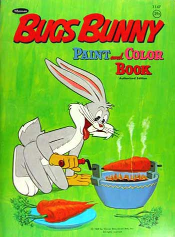 Bugs Bunny Paint and Color Book