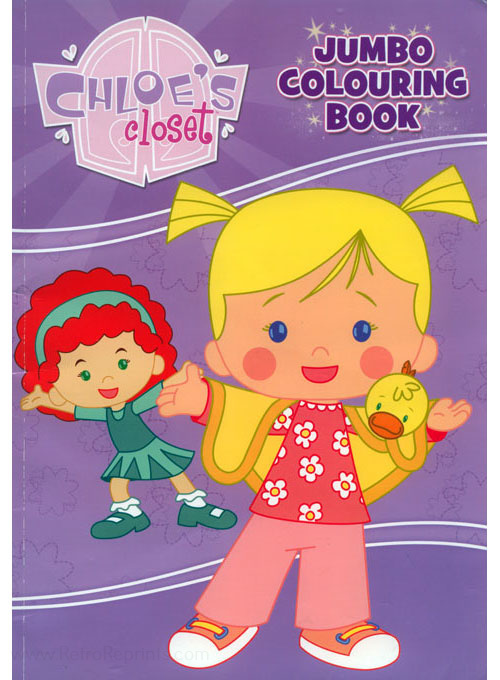 Chloe's Closet Colouring Book