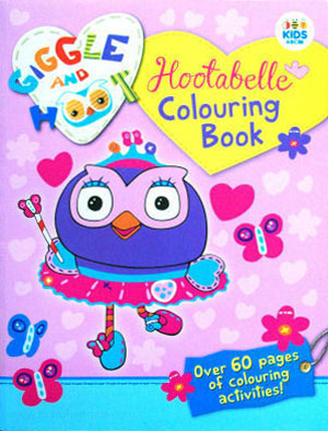 Giggle and Hoot Coloring Book