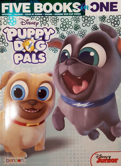 Puppy Dog Pals, Disney's Five Books in One