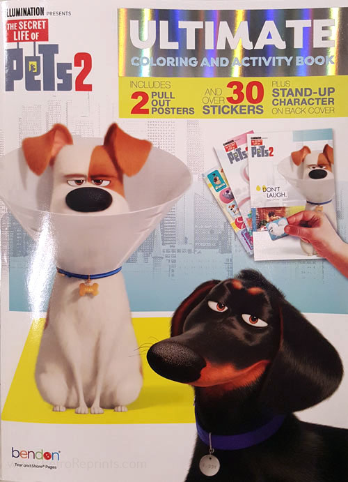 Secret Life of Pets 2, The  Coloring & Activity Book