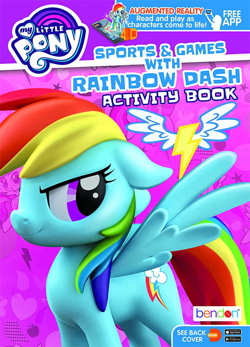 My Little Pony: Friendship Is Magic Sports & Games with Rainbow Dash