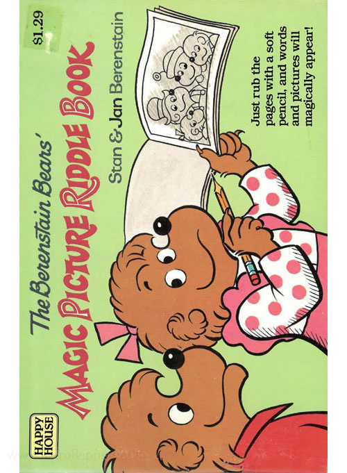 Berenstain Bears, The Magic Picture Riddle Book
