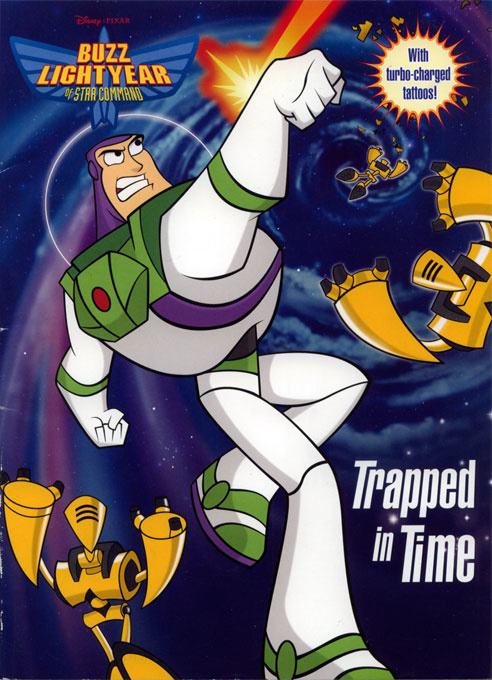 Buzz Lightyear of Star Command Trapped in Time