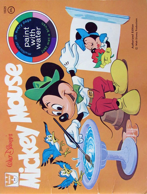 Mickey Mouse and Friends Paint with Water