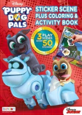 Puppy Dog Pals, Disney's Coloring & Activity Book