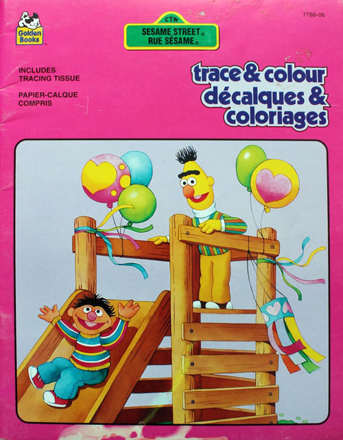 Sesame Street Coloring Books: RetroReprints - The world's