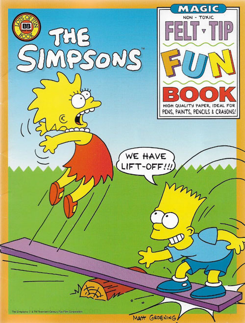 Simpsons, The Fun Book