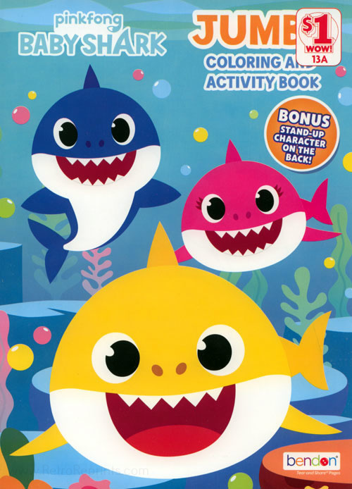 Baby Shark Coloring Book
