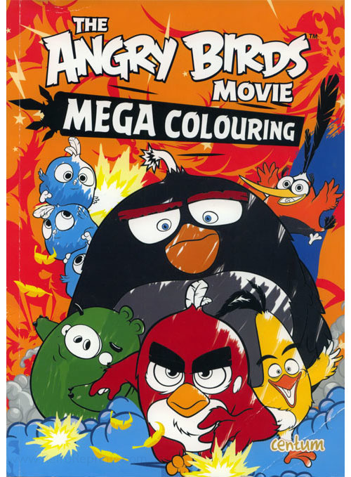 Angry Birds Movie, The Colouring Book