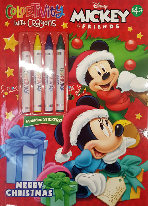 Mickey Mouse and Friends Merry Christmas