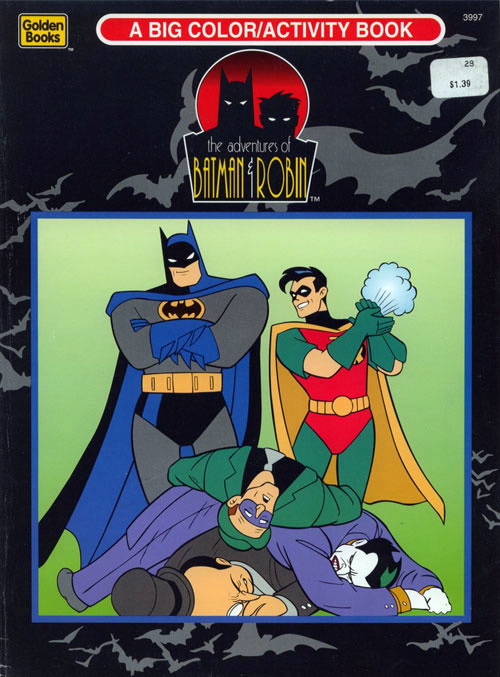 Batman: The Animated Series Coloring and Activity Book