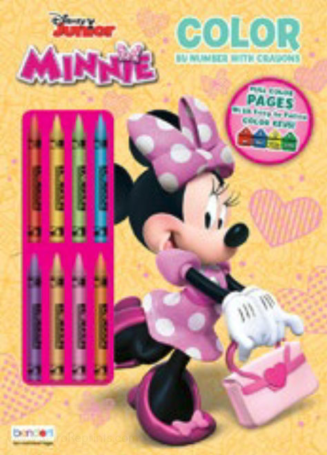 Minnie Mouse Color by Number