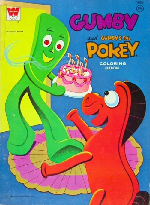 Gumby and Pokey Coloring Book