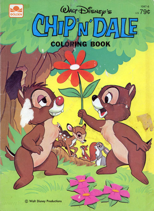 Chip 'n Dale Coloring Book
